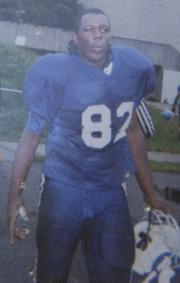 A photo on the porch of Odin Lloyd's Dorchester home showed the semipro football player in uniform for the Boston Bandits. He had played for the team since 2007.